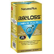 Мультивитамины для Мужчин, AgeLoss, Natures Plus, 90 таблеток