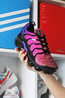 🔥 Кроссовки Nike Air Vapormax TN Pink Violet Найк Аир Плюс 🔥 Найк мужские кроссовки 🔥