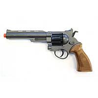 Пистолет Edison Giocattoli Ron Smith 28см 8-зарядный с мишенью и пульками SKL17-139979