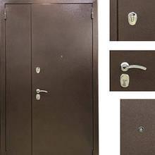 Дверь входная металлическая Sagan Model 112, Base, Fuaro, Металл / Темный орех, 1200х2050, правая