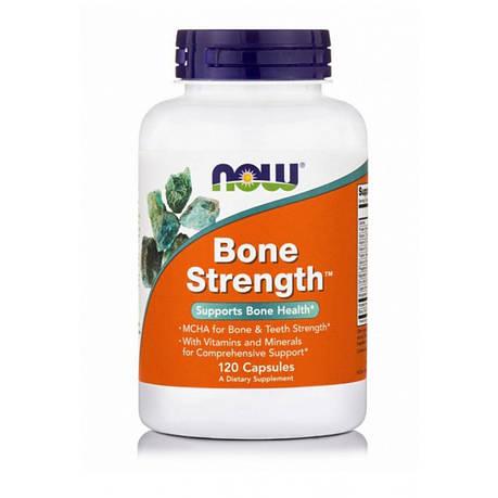 Крепкие Кости, Bone Strength, 120 капсул, фото 2