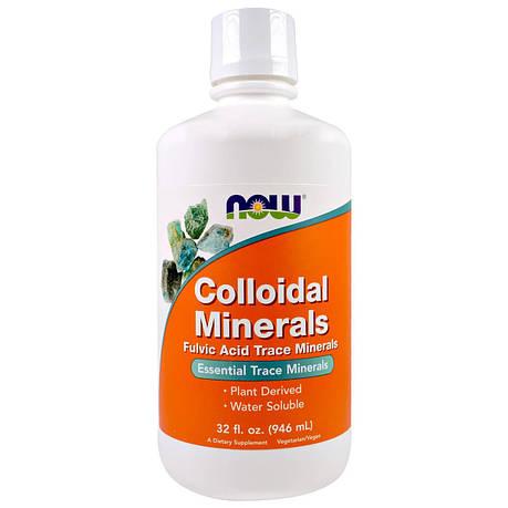 Коллоидные Минералы, Colloidal Minerals, Now Foods, 946 мл, фото 2