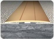 Латунный порожек В001 25мм 0.9 м