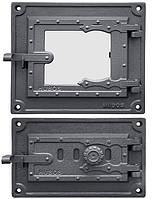 Дверцы чугунные DPK17W/3WR, фото 1