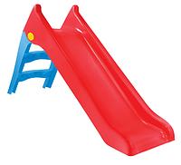 Горка детская пластиковая Mochtoys red 140см 11966