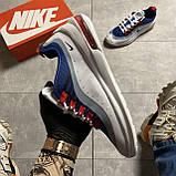 🔥 Кроссовки Nike Air Max Axis Blue/White Найк Аир Макс 🔥 Найк мужские кроссовки 🔥, фото 4