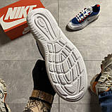 🔥 Кроссовки Nike Air Max Axis Blue/White Найк Аир Макс 🔥 Найк мужские кроссовки 🔥, фото 5