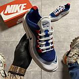🔥 Кроссовки Nike Air Max Axis Blue/White Найк Аир Макс 🔥 Найк мужские кроссовки 🔥, фото 7
