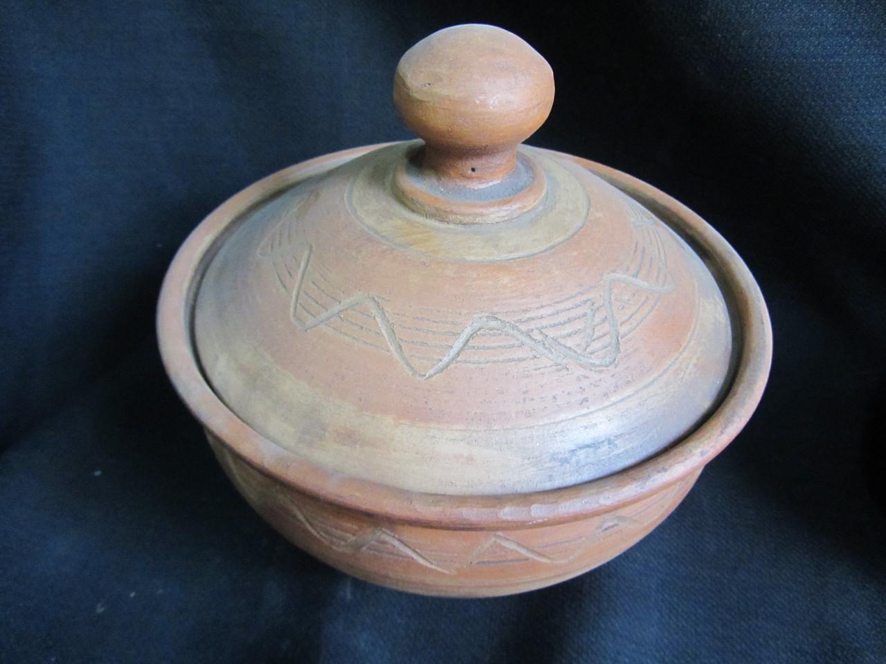 Тарелка-вареничная с крышкой, в-19см, д-18см (200/180)