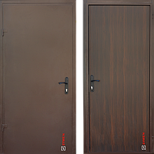 Дверь входная металлическая Sagan Model 102, Base, Металл / ДСП, 950х2050, правая