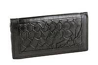 Кожаный черный кошелек, фото 1