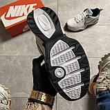 Кроссовки Nike Air Monarch White Blue Найк Эир Монарх Кожа Белый 🔥 Найк мужские кроссовки 🔥, фото 2