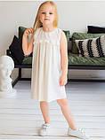 Льняное платье для девочки, фото 2