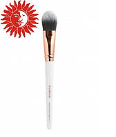 Кисть для макияжа TopFace профессиональная для тональных средств плоская PT901-F07