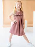 Льняное платье для девочки, фото 6
