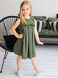 Льняное платье для девочки, фото 7