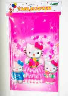 "Детская скатерть на стол ""Hello Kitty"" (108*180)"