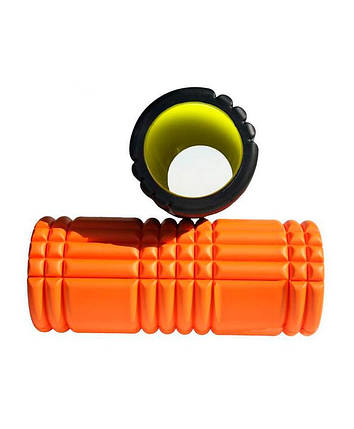 Ролик для йоги LiveUp Yoga Roller Orange (LS3768-o), фото 2