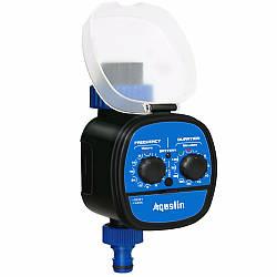 Таймер для полива с  шаровым клапаном и возможностью отложенного старта Aqualin 21049