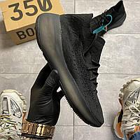🔥Adidas Yeezy Boost 380 Alien Full Black Черные Адидас Изи Буст 380 Черный 🔥 Адидас мужские кроссовки 🔥