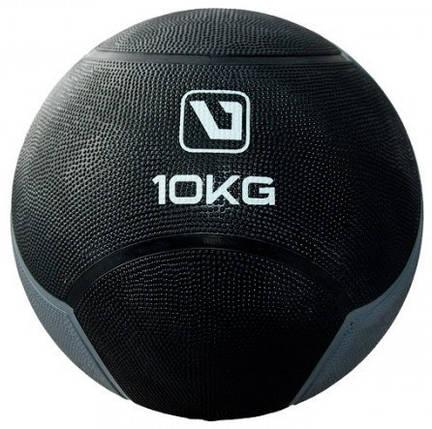 Медбол LiveUp Medicine Ball 10 кг Black (LS3006F-10), фото 2