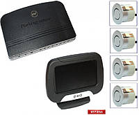 Парктроник GT P Drive 4 silver (P DR4 Silver)