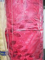 Шторная ткань портьера бордо 150м. Molly