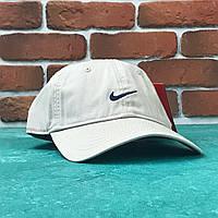 Кепка бейсболка Nike Бежевая, фото 1