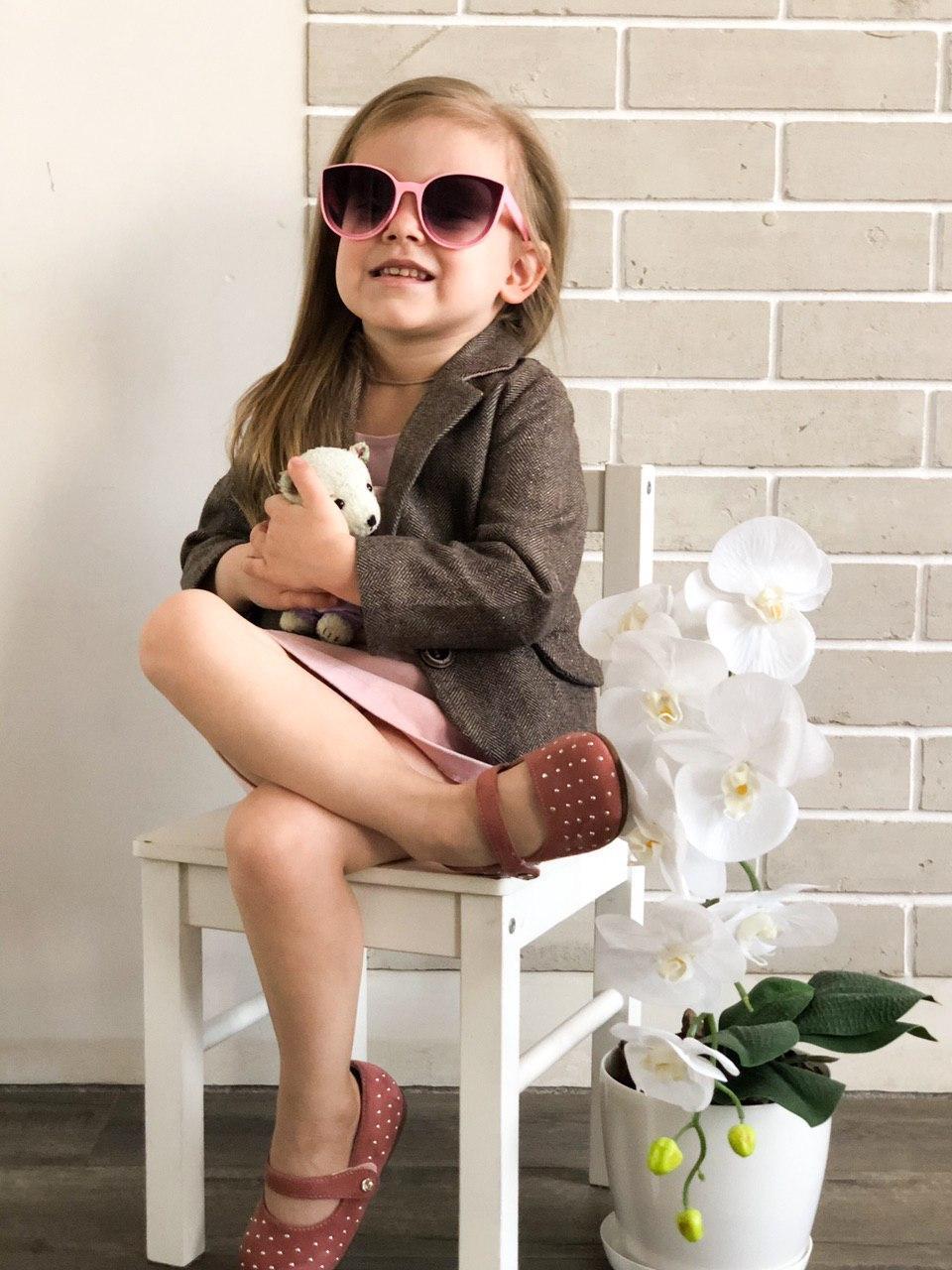 Очки для девочки 3-7 лет/Окуляри для дівчинки 3-8 років