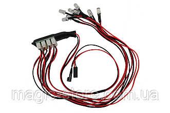 Фары для автомоделей RCTurn 8 светодиодов
