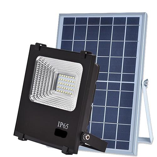 LED прожектор на солнечных панелях VARGO 25W 6500К с пультом