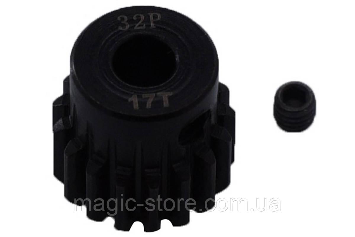 Пиньон стальной RCTurn M0.8 32 Pitch под вал 5мм (17T)