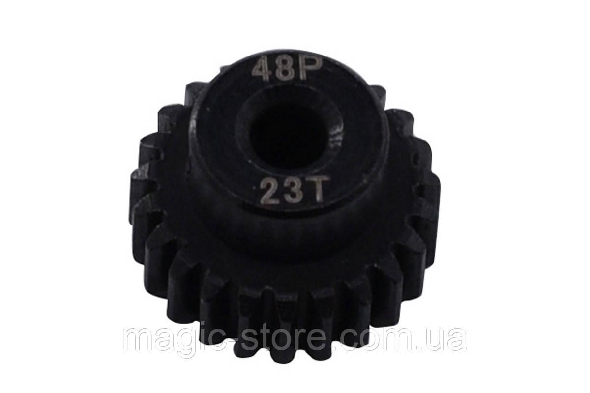 Пиньон стальной RCTurn M0.5 48 Pitch под вал 3.175мм (23T)