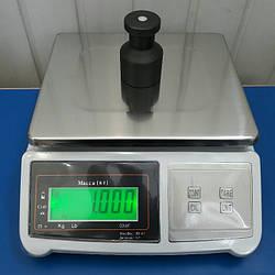 Фасовочные электронные весы до 30кг Олимп 709W (260*220мм)