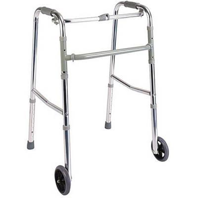Ходунки для инвалидов DY04912L(4)-5 усиленные, на колесах
