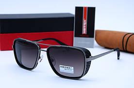 Солнцезащитные мужские прямоугольные очки Matrix 8617 c2-P93