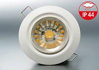 Светильник пылевлагостойкий встраиваемый Bioledex DEKTO LED downlight 8Вт с теплым светом, IP44