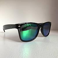 Солнцезащитные очки Полароид Ray Ban Wayfarer зеленый