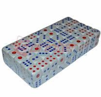 Кубик игральный. В упаковке 100 шт. №18