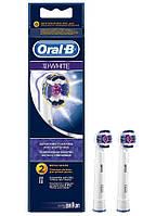 Насадка к электрической зубной щетке Oral-B Braun 3D White (2 щетки)