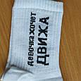 Шкарпетки дівчинка хоче движу білі розмір 36-44, фото 7