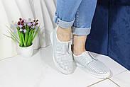 Стильні білі мокасини Aras Shoes K6L-14222-WHITE, фото 8