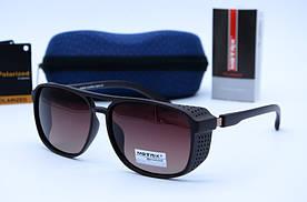 Солнцезащитные мужские прямоугольные очки Matrix 8619 Р94-8