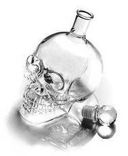 Подарочный набор Графин в форме черепа 0,75 л и 4 стакана Череп, фото 3