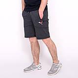 Чоловічі трикотажні шорти PUMA, кольору хакі., фото 7