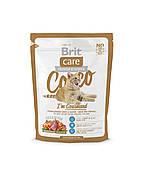 Brit Care Cocco I am Gourmand корм для привередливых кошек, 400 г