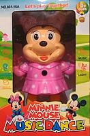Интерактивная игрушка Minnie Mouse Music Dance, кот том,  говорящий кот том,  говорящий кот том игрушка,