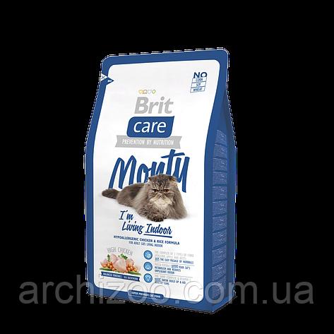 Brit Care Monty I am Living Indoor корм для кошек, живущих в доме, 7 кг, фото 2