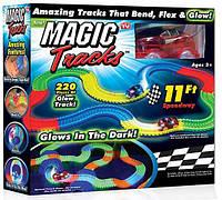 Гоночный Мэджик Трек Magic Tracks на 220 деталей, Все на радиоуправлении, авто на радиоуправлении, баги на