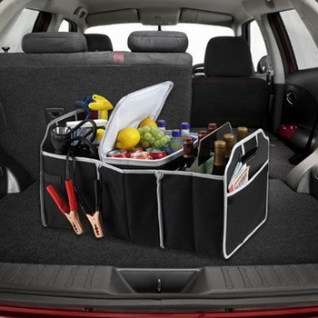 "Сумка - органайзер в багажник автомобиля. Органайзер для авто ""Car Boot Organiser"". ave"